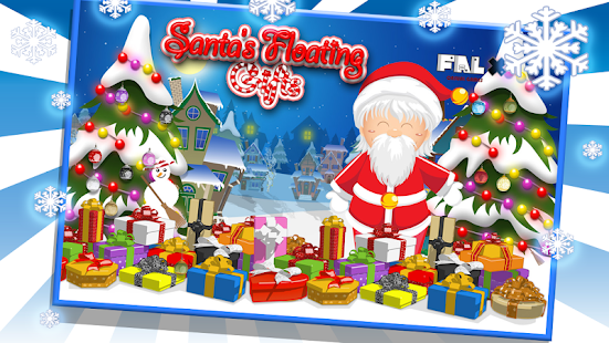 Santa Floating Gifts HD - screenshot thumbnail