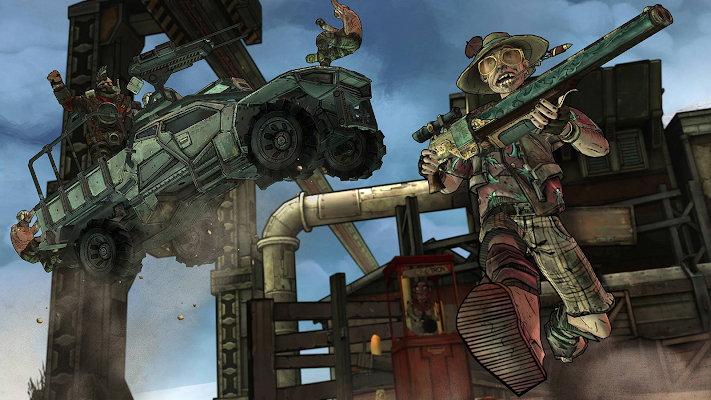 Tales from the Borderlands - screenshot