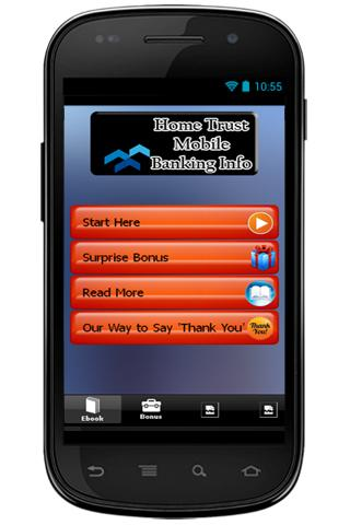 Home Trust Mobile Banking Info