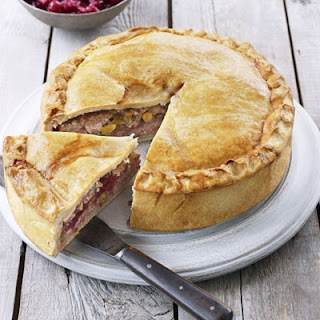 Pistachio & Cranberry Pork Pie