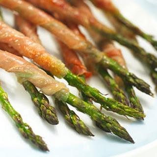 Asparagus Wrapped in Parma Ham Recipe