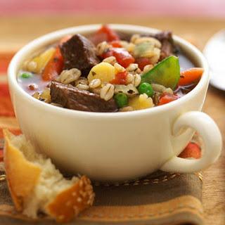 Barley-Beef Soup