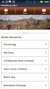 Gettysburg Battle App: July 2- screenshot thumbnail