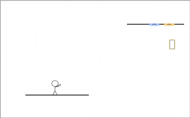 Stickman: Portal screenshot