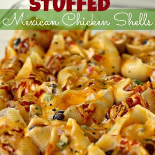 Stuffed Mexican Chicken Shells.