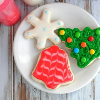 Holiday Sugar Cookie Ingredients