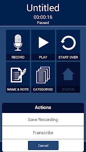 d2u: Recorder & Transcription screenshot 3