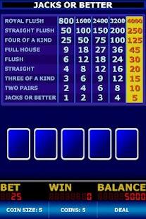 Video Poker Classic Free - screenshot thumbnail