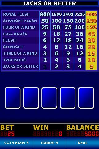 Video Poker Classic Free - screenshot