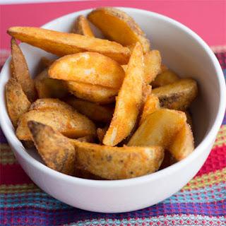 Seasoned Baked Potato Wedges.