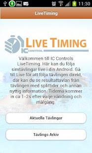 LiveTiming- screenshot thumbnail
