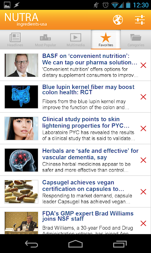 【免費新聞App】NutraIngredients-APP點子