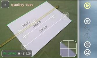 Screenshot of Partometer3D - camera measure