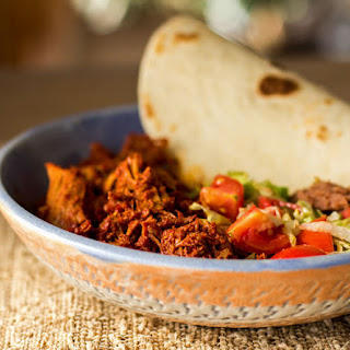 New Mexico Carne Adovada (Pork Marinated in Red Chile).