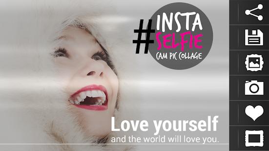 Insta Selfie Cam Pic Collage screenshot
