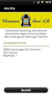 Värnamo Taxi- screenshot thumbnail