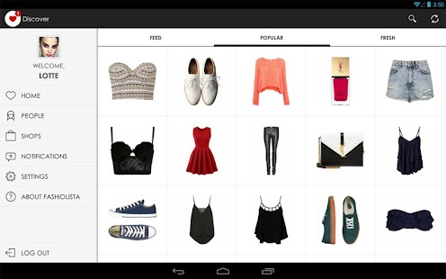 Fashiolista - screenshot thumbnail