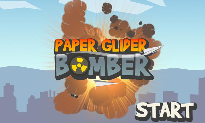 Paper Glider Bomber - screenshot