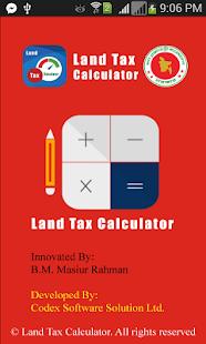 Land Tax Calculator - screenshot thumbnail