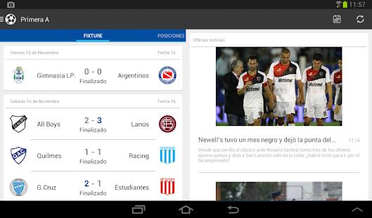 Liga Argentina de Fútbol Screenshot 16