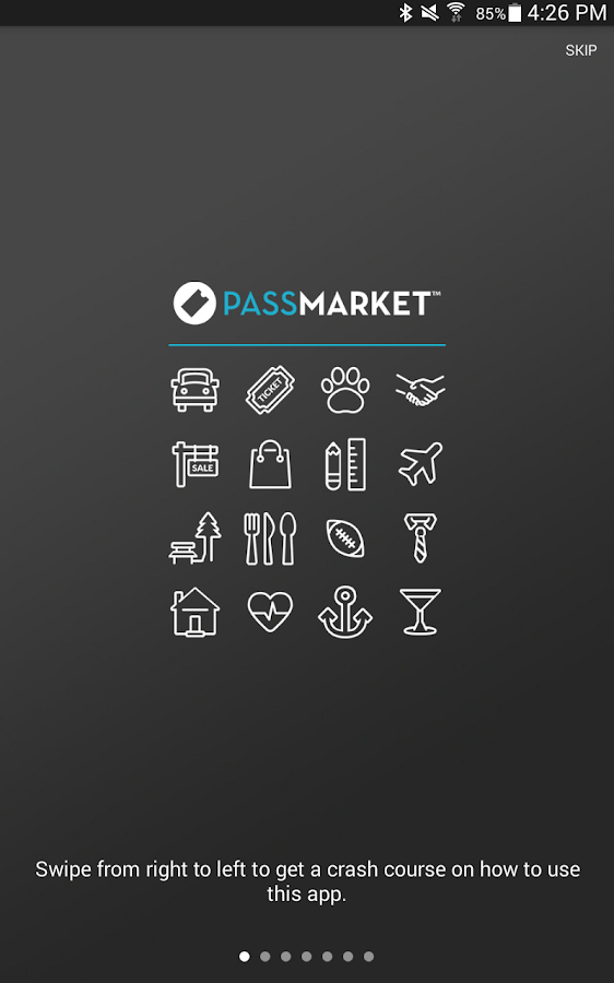 PassMarket Wallet- screenshot