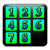 Sliding Number Puzzle Game