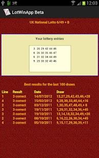 LotWin Lottery Line Builder- screenshot thumbnail