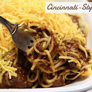 Cincinnati Style Chili
