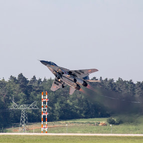 MiG 29 Flying Display by Joachim Unger - Transportation Airplanes ( mig29, düsenjet, fulcrum, military, poland, ila, kampfflugzeug, aircraft, mig, germany, berlin, jet, fighter, fighterwing )