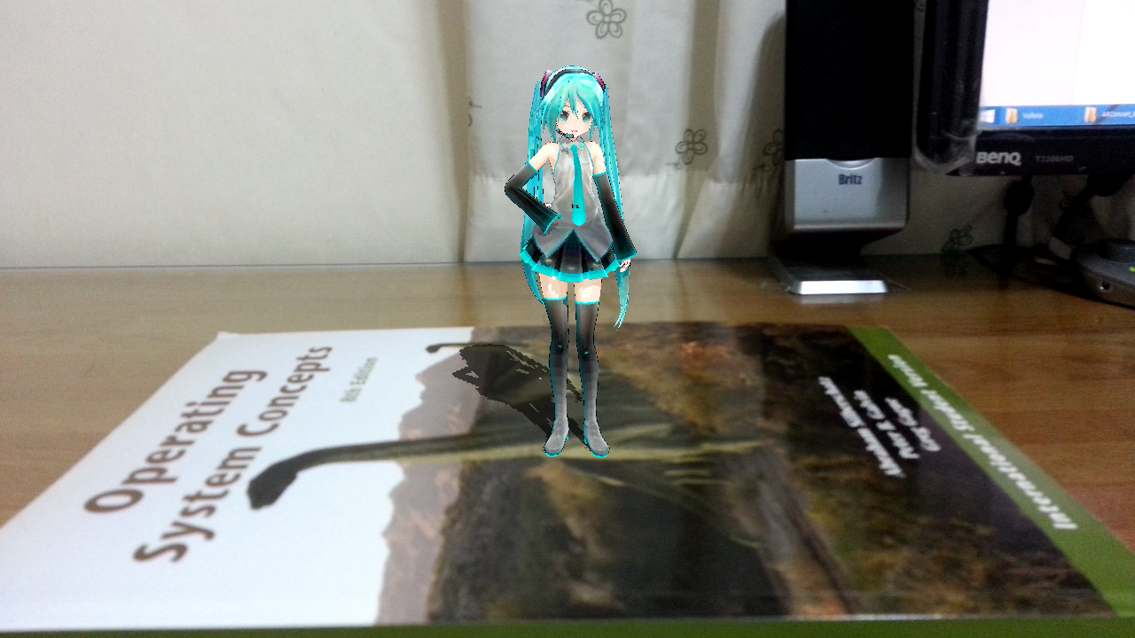 AR Concert with Miku- screenshot