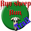 Run sheep run – trail logo
