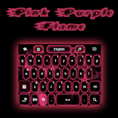 Pink Purple GO Keyboard