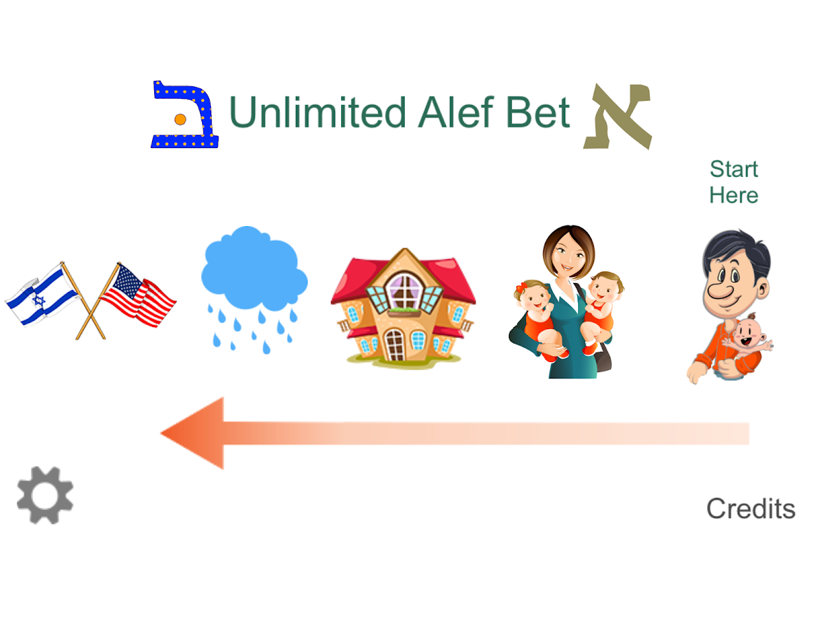 Unlimited Alef Bet- screenshot