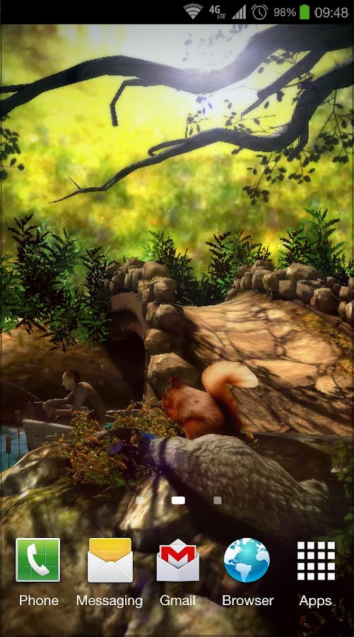 Fantasy Forest 3D Free - screenshot