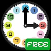 Nauka zegara dla dzieci (Free)