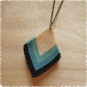Braided Bead Pendant icon