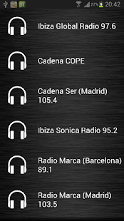 Live Radio Spain - screenshot thumbnail