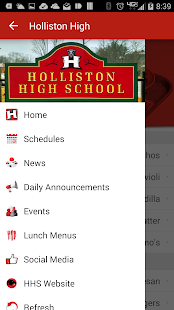 Holliston High School- screenshot thumbnail