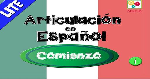 Spanish Articulation Lite