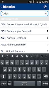 idealo Flight Comparison - screenshot thumbnail