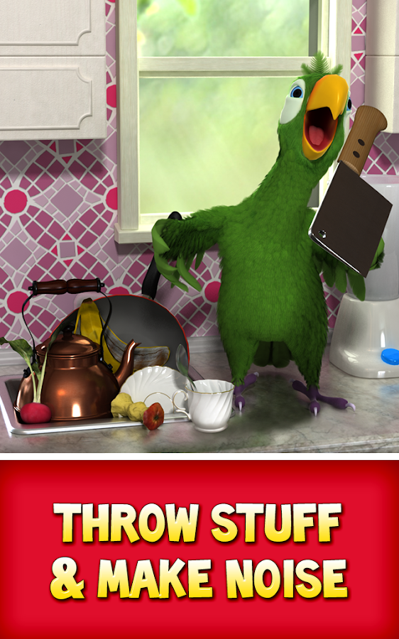 Talking Pierre the Parrot- screenshot