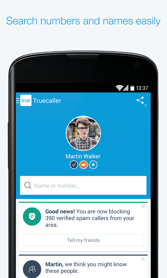 Truecaller Caller Id Amp Block Android Apps On Google Play