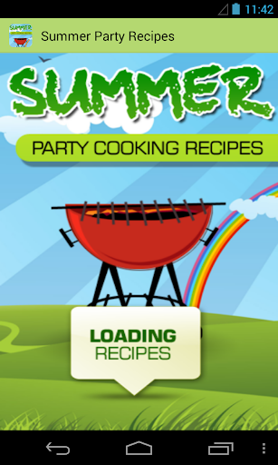 Summer Party Cooking Recipes