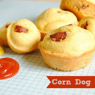 Corn Dog Muffins {Recipe}