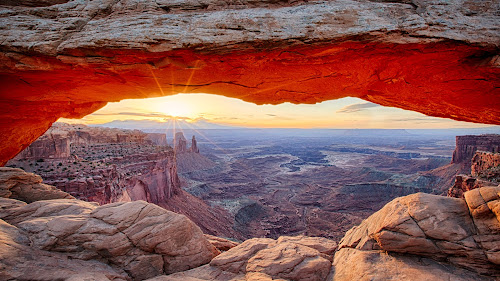 Mesa Arch by Tim Monk - Landscapes Sunsets & Sunrises (  )