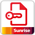 Sunrise My account icon