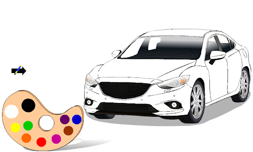 ColorMe: Auta - náhled