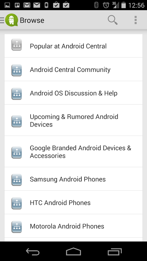 Android Central Forums - screenshot