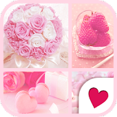 Cute wallpaper★I love pink