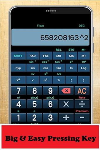 Advanced Scientific Calculator